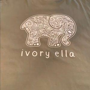Ivory Ella long-sleeve tee